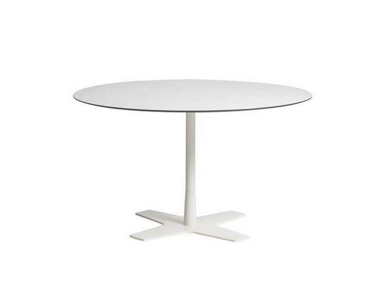 Round garden table MOONDECK | Round table - Potocco