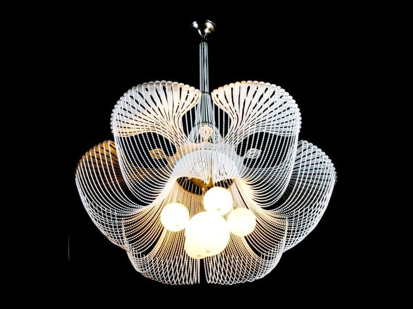 Pendant lamp MOONFLOWER by Willowlamp
