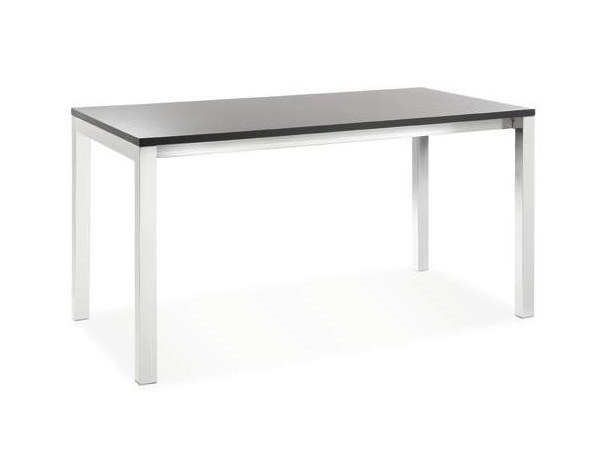 Extending rectangular laminate table MORE - CREO Kitchens by Lube