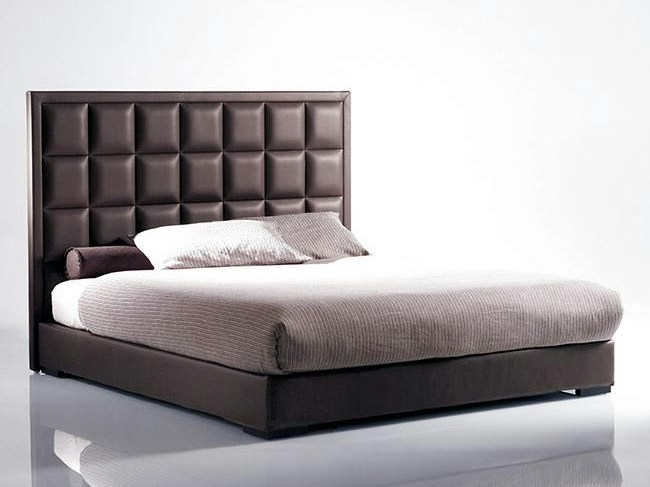 Bed with upholstered headboard MORFEO | Bed with upholstered headboard - Marac
