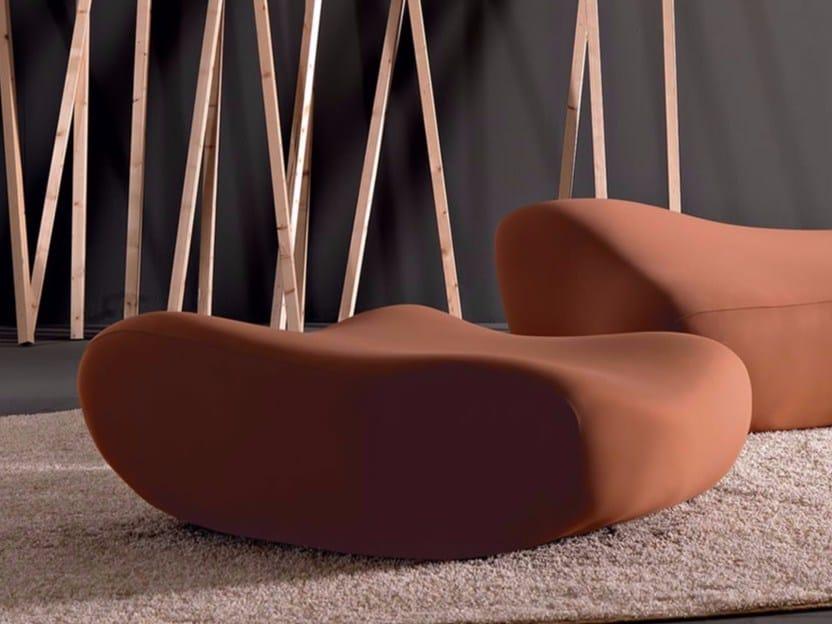 Polyurethane pouf MORFO | Pouf - Esedra by Prospettive