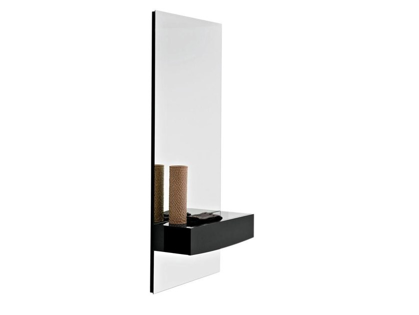 Wall-mounted mirror with cabinet MORGAN - Calligaris