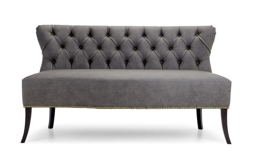 Chesterfield style tufted leather sofa MORK | Tufted sofa - Domingo Salotti