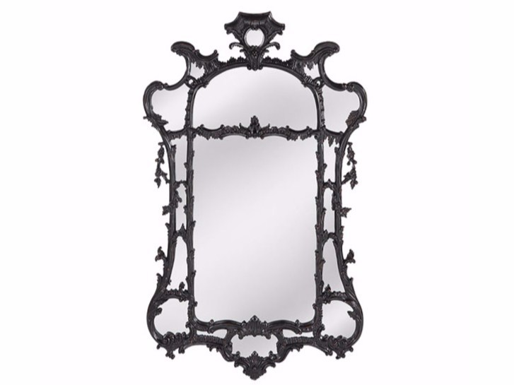 Wall-mounted framed mirror MORRIS - Gianfranco Ferré Home