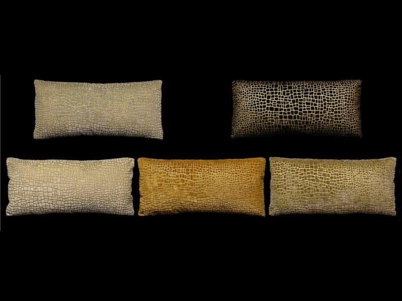 Rectangular velvet cushion MOSAICO | Rectangular cushion - Venetia Studium