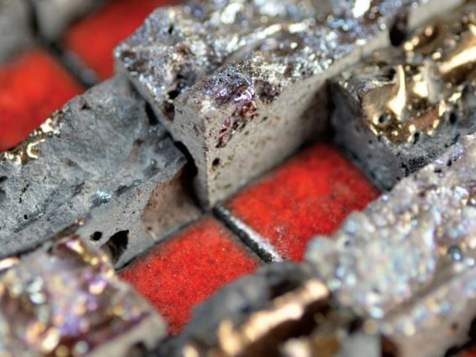 Stone mosaic MOSAICS - made a mano