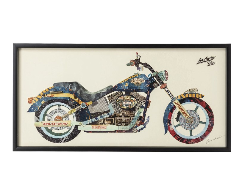 Decorative painting MOTORBIKE - KARE-DESIGN
