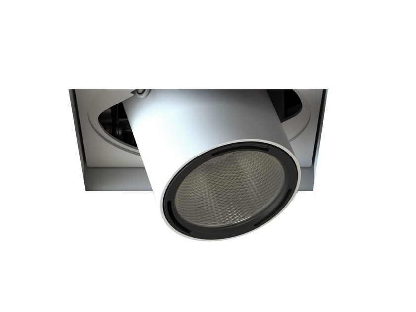 LED adjustable recessed spotlight MOVE FOCUS | Square spotlight by LUCIFERO'S