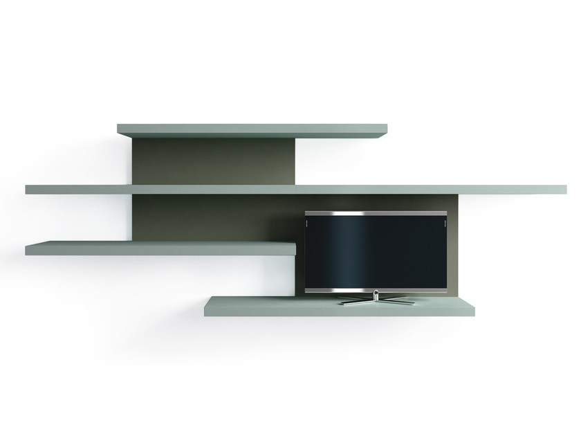 Bookcase / storage wall MOVIDA by Caccaro