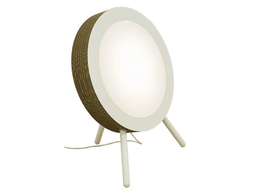 Kraft paper floor lamp MOVIE - Staygreen
