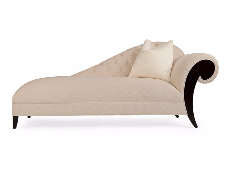 Tufted fabric day bed MOËT DROITE - Christopher Guy