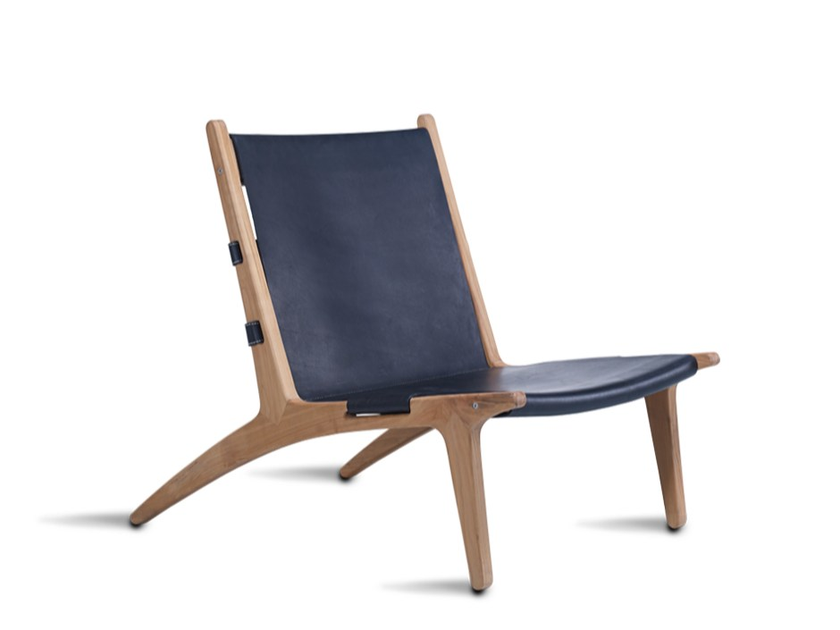 Poltroncina in pelle MP04 - HOOKL und STOOL
