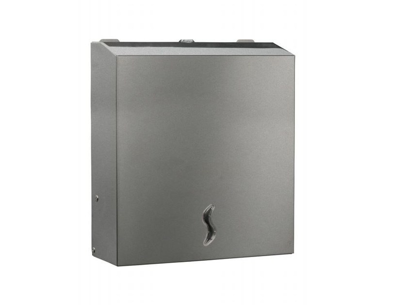 Brushed steel Bathroom tissue dispenser MP829 | Bathroom tissue dispenser - Saniline by Thermomat