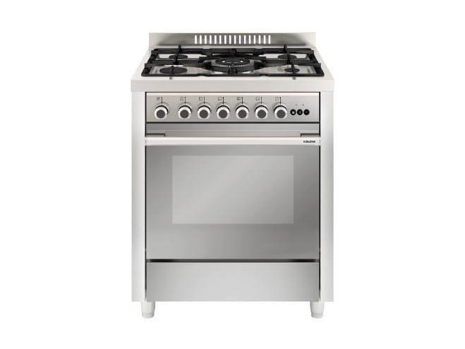 Steel cooker MQ7612RI | Cooker by Glem Gas