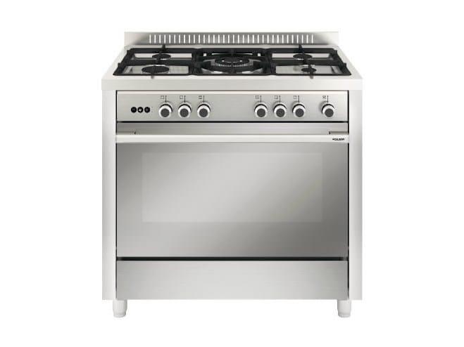 Steel cooker MQB612RI   Cooker - Glem Gas