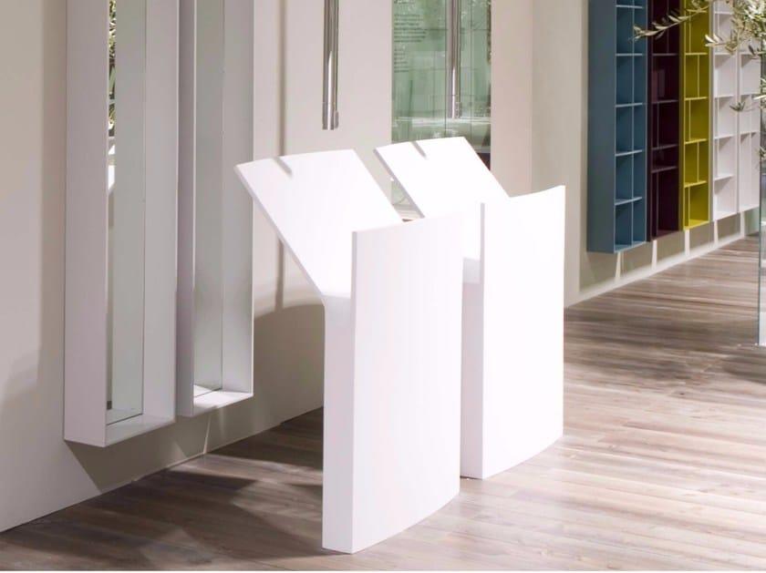 Freestanding Cristalplant® washbasin MR SPLASH - Antonio Lupi Design®