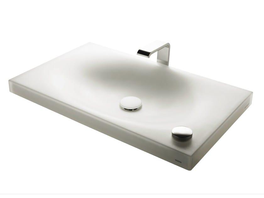 Inset resin washbasin MR720ACR1 | Resin washbasin - TOTO