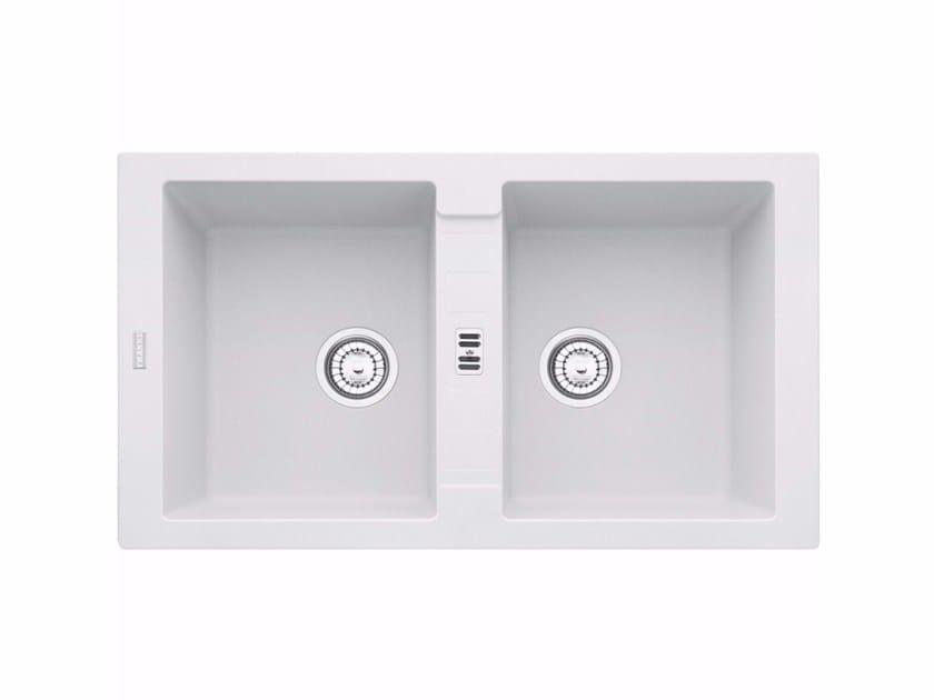 Lavello a 2 vasche in Fragranite® MRG 620 - FRANKE