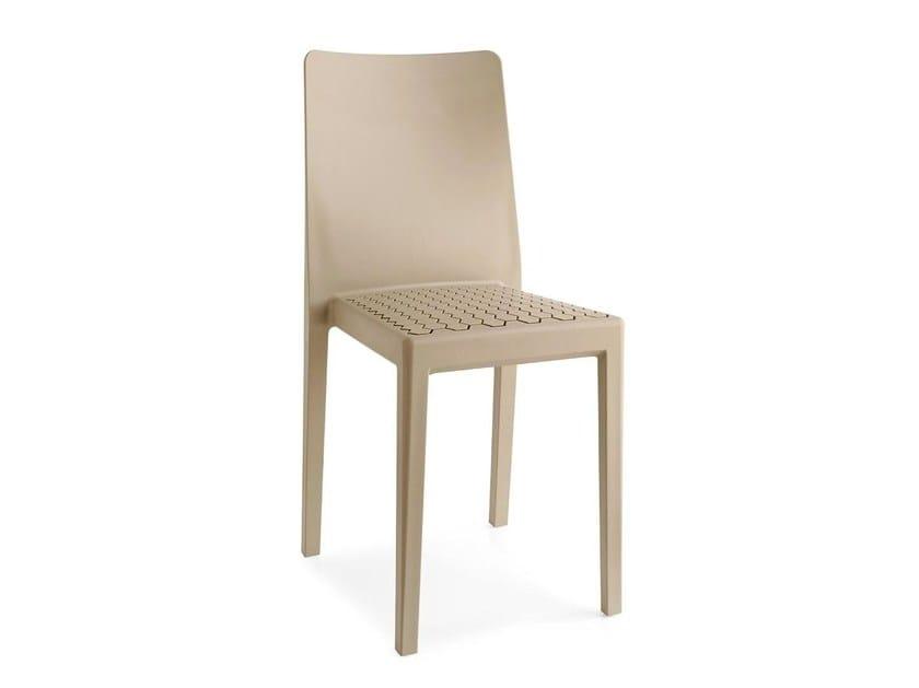 Stackable polypropylene chair MS4 - Calligaris