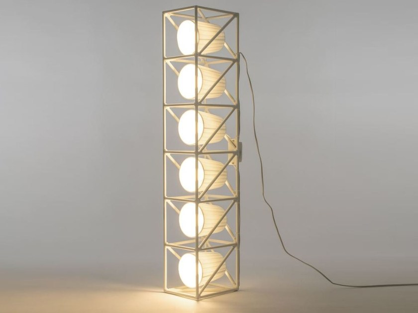 Metal floor lamp MULTILAMP LINE | Floor lamp - Seletti