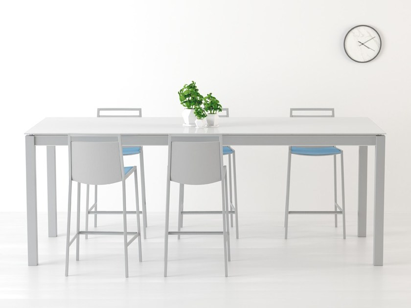 High table with casters MULTIPLA | High table by CANCIO