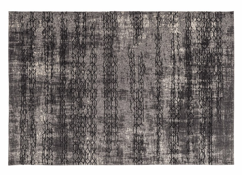 Rectangular cotton rug MUMBAI by Cattelan Italia