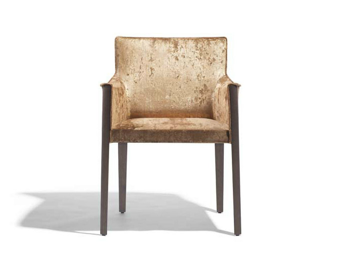 Upholstered fabric easy chair MUSA | Fabric easy chair by Potocco