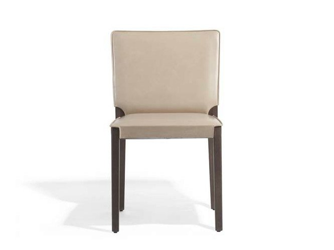 Upholstered leather chair MUSA   Leather chair - Potocco