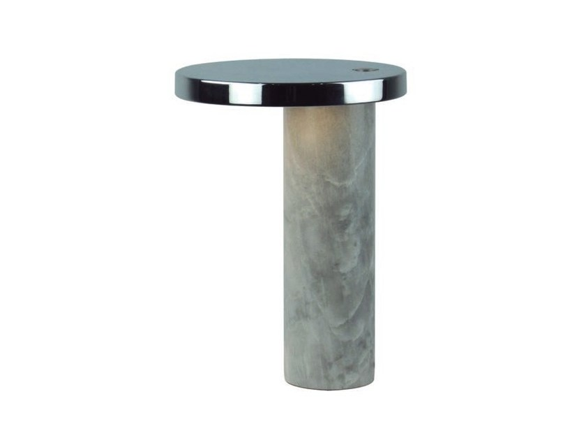 Marble table lamp with fixed arm MUSE - Aromas del Campo