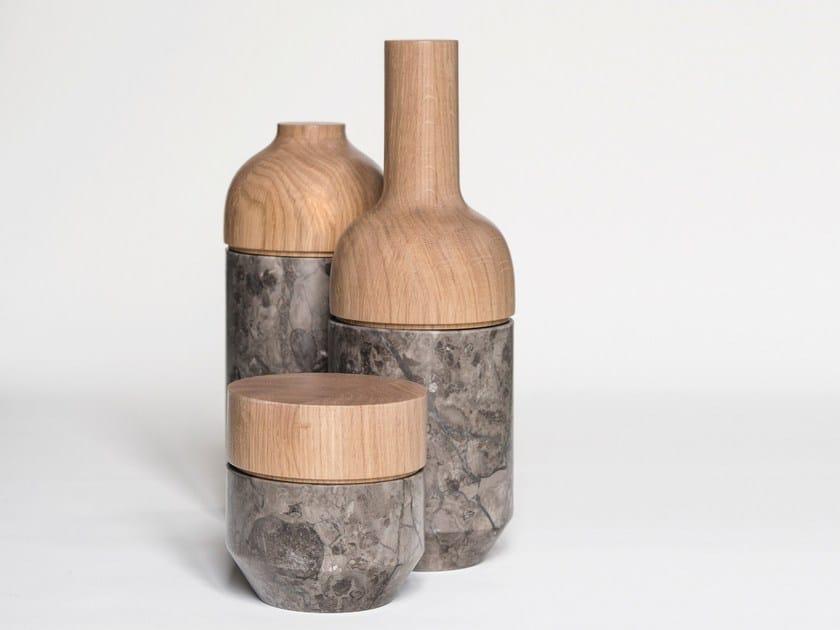 Contemporary style marble storage box MUTAMENTI - gumdesign
