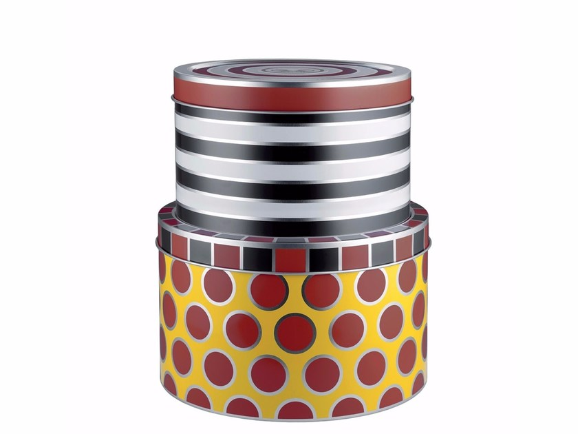 Tinplate storage box MW31S | Storage box by ALESSI