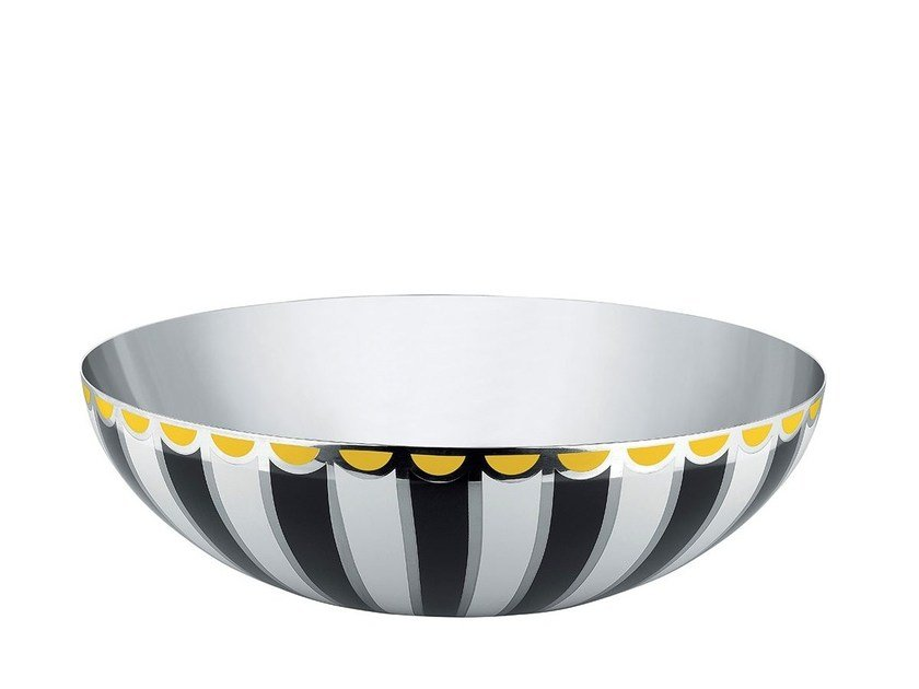 Stainless steel bowl MW55 | Bowl by Alessi