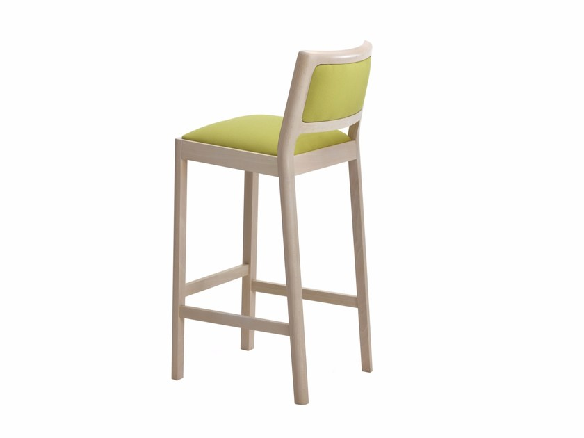 Upholstered counter stool MY FRAME GM120 - Segis