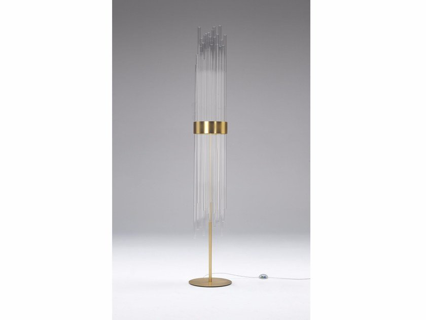 Glass floor lamp MY LAMP FLOOR by Paolo Castelli