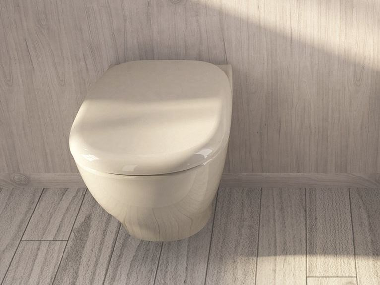 Wall-hung ceramic toilet MY | Wall-hung toilet - Hidra Ceramica