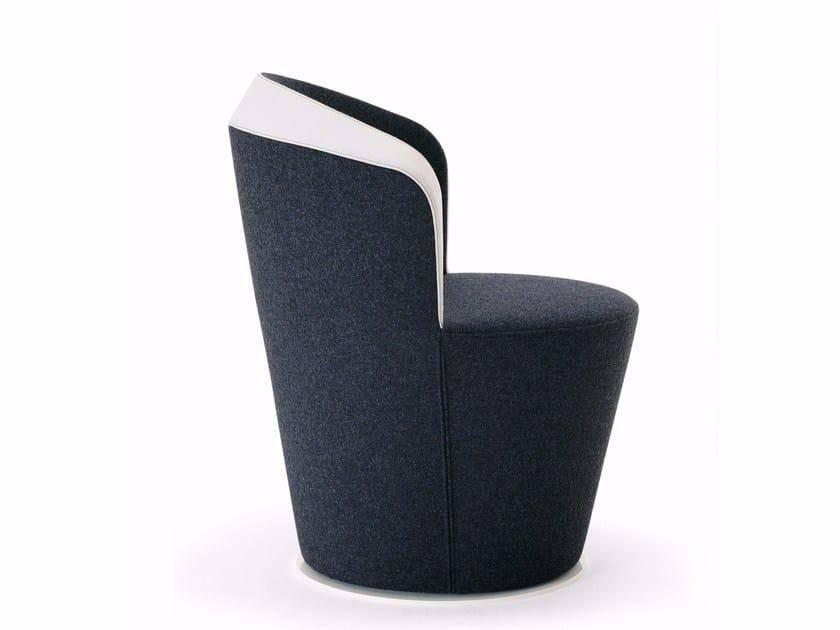 Upholstered fabric armchair MYGINGOL - Segis