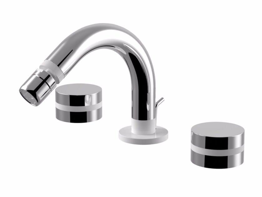3 hole bidet tap with swivel spout MYRING | 3 hole bidet tap - Giulini G. Rubinetteria