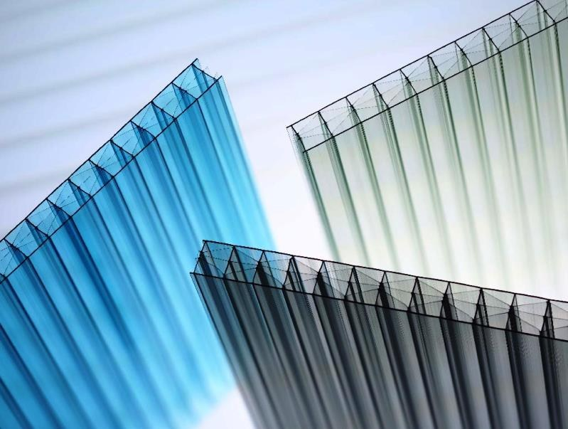 Translucent Resin Panel System : Polycarbonate multi wall sheet makrolon
