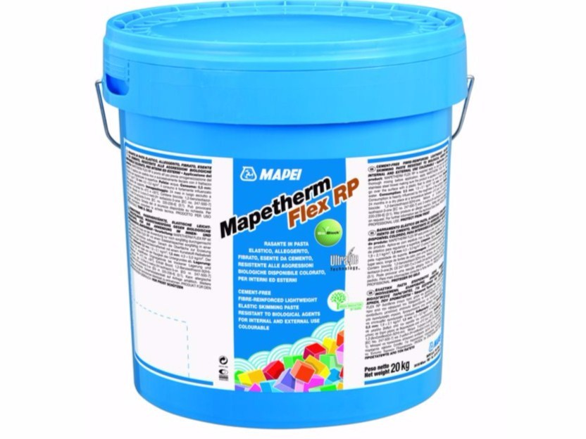 Smoothing compound Mapetherm Flex RP - MAPEI