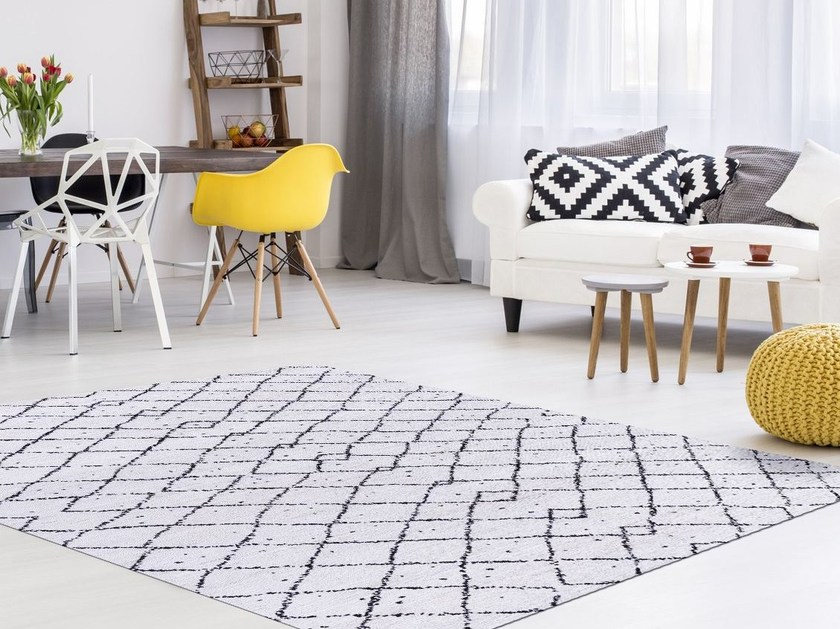Patterned handmade custom rug MAROUK | Rug by Mischioff