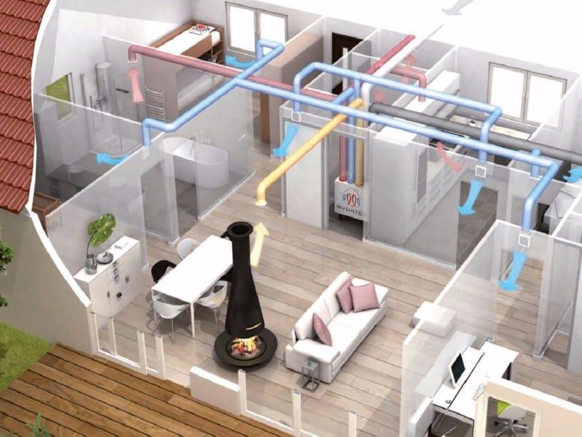 Sistema di ventilazione meccanica controllata multizone for Ventilazione meccanica