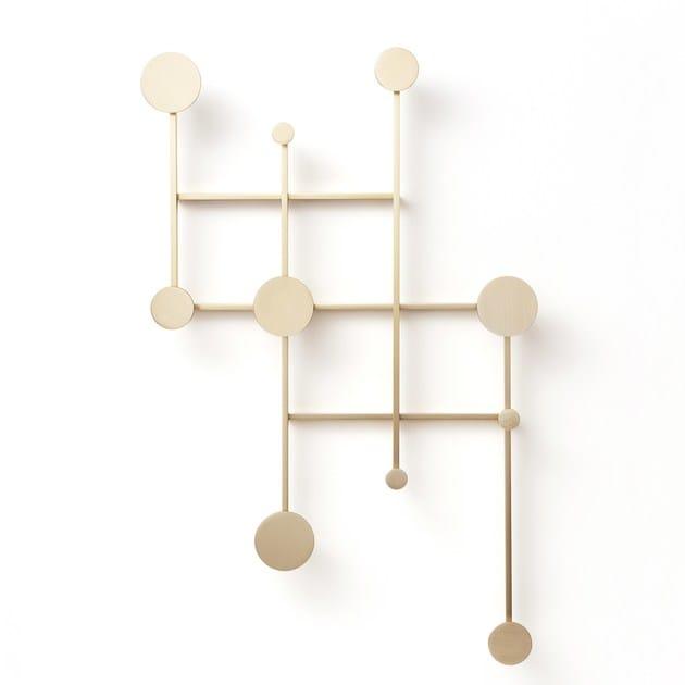 Wall-mounted metal coat rack Memoir - DANTE - Goods and Bads