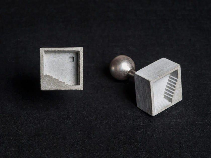 Gemelli in calcestruzzo Micro Concrete Cufflinks #3 - Material Immaterial studio