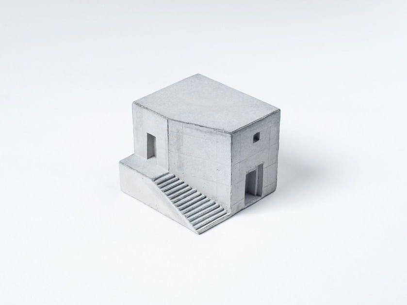 Concrete architectural model Miniature Concrete Home #3 - Material Immaterial studio