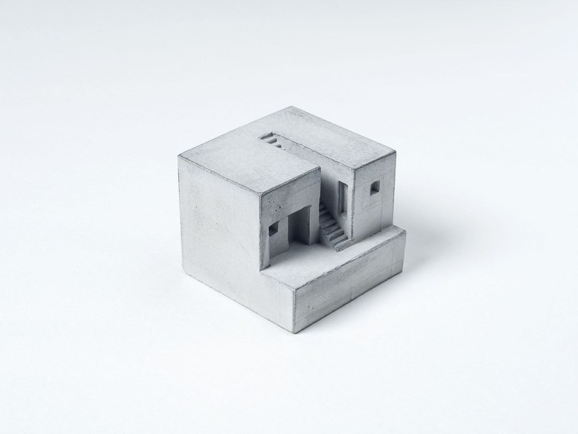 Concrete architectural model Miniature Concrete Home #4 - Material Immaterial studio