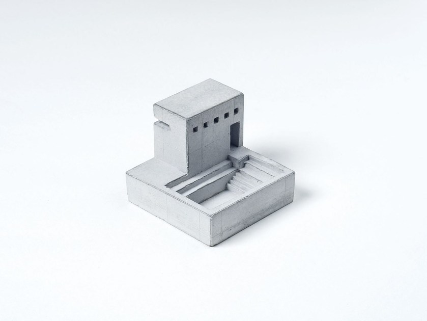 Concrete architectural model Miniature Concrete Home #5 - Material Immaterial studio