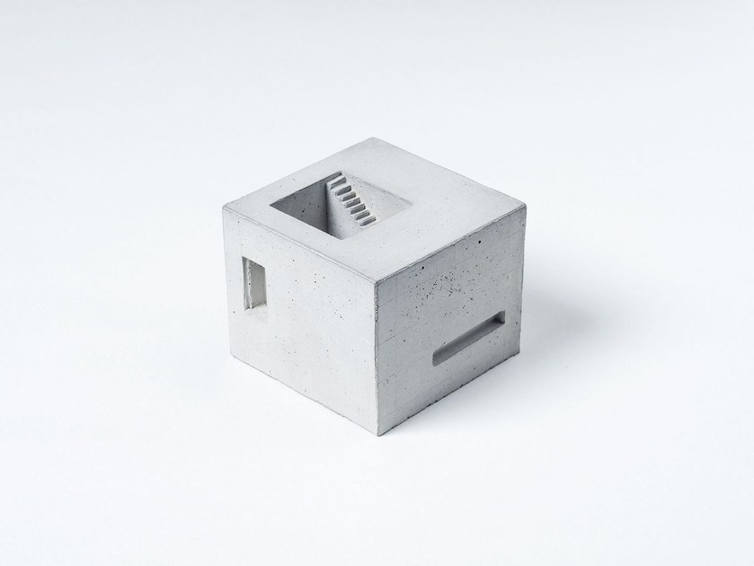 Concrete architectural model Miniature Concrete Home #6 - Material Immaterial studio