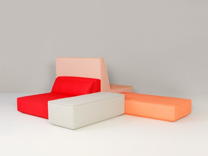 Modular fabric sofa Modular sofa - Cubit by Mymito