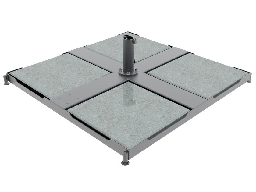 Portable steel base Monaco 4 Z / 4 P