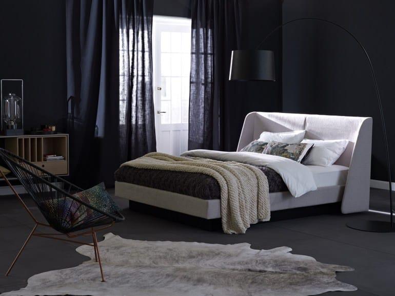 letto matrimoniale sfoderabile mood schramm. Black Bedroom Furniture Sets. Home Design Ideas